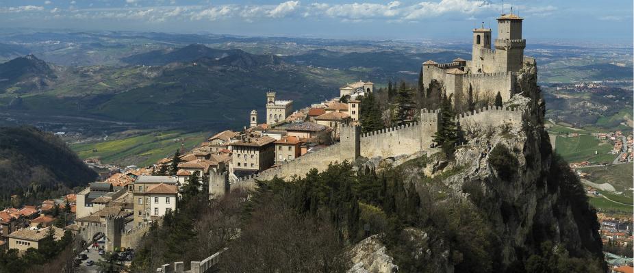 San Marino - prima torre