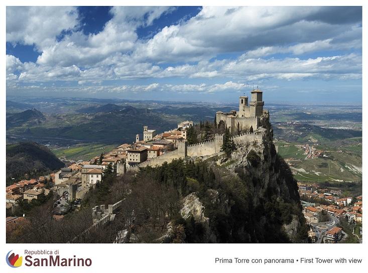 Panoramica di San Marino