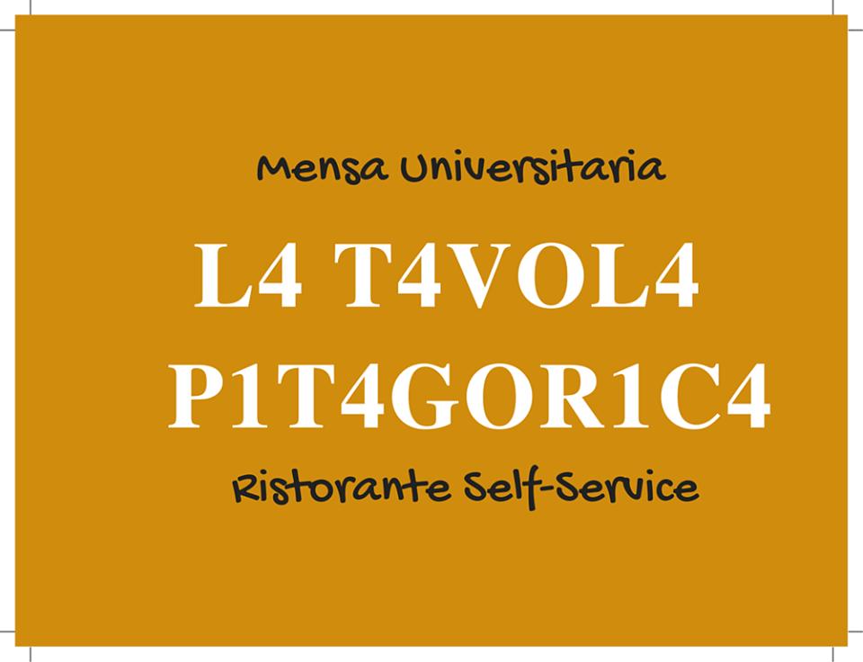 La Tavola Pitagorica