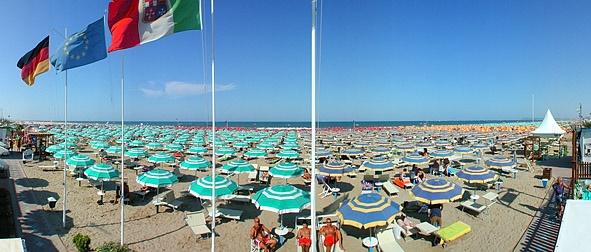 Bagno 142/143 Bagni Ricci (southerly) | Rimini turismo