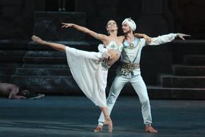La Bayadere dal Teatro Bolshoi di Mosca