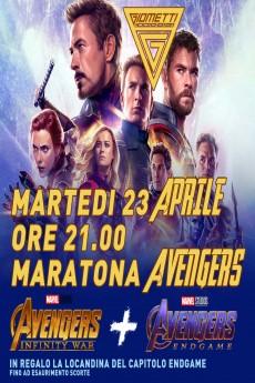 Locandina dei film Maratona Avengers