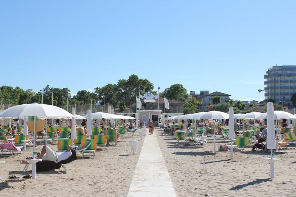 Bagno 96/97/98 sud Acquamarina | Rimini turismo