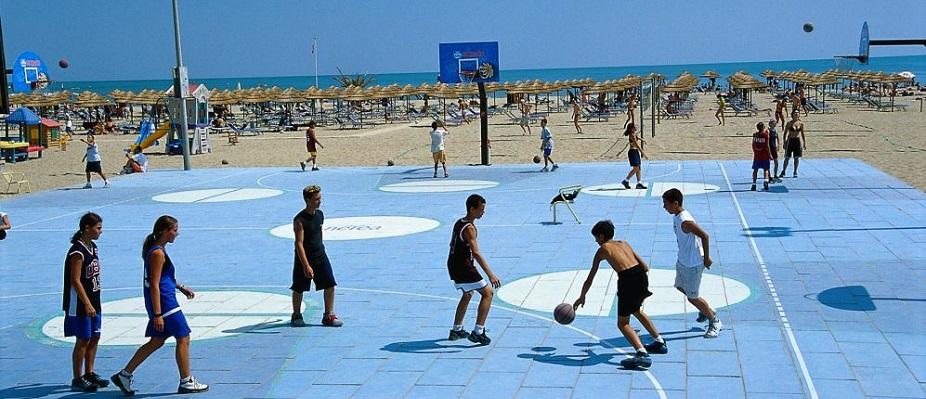 Beach basketball, ph. L. Bottaro
