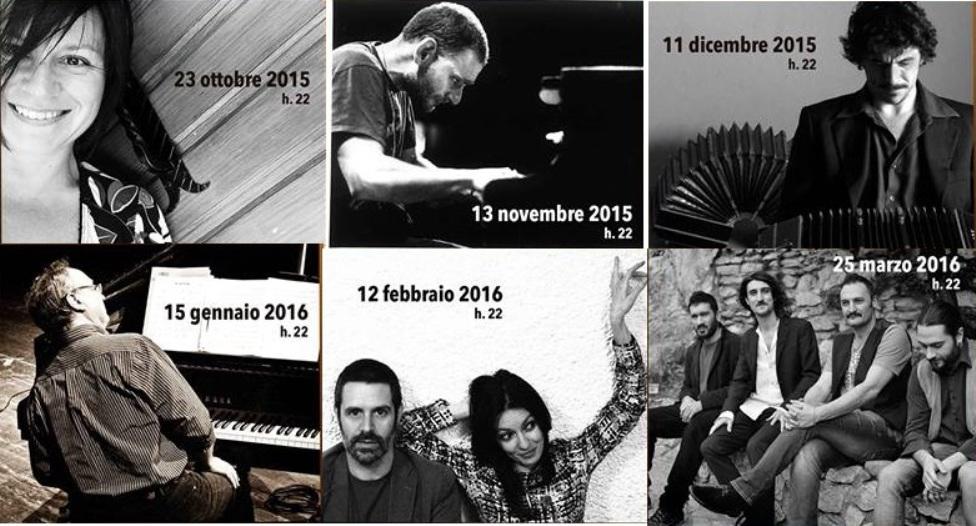 Al Belleville Jazz Club: Eloisa Atti, Stefano De Bonis, Carlo Maver, Gian Marco Gualandi, Patrizia Laquidara, Locomarket