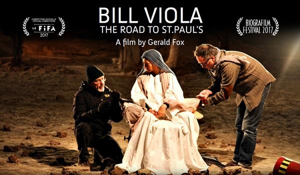 Locandina del film 'Bill Viola - The road to St. Paul's