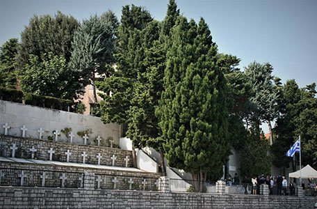 Greek War Cemetery - photo ANPI