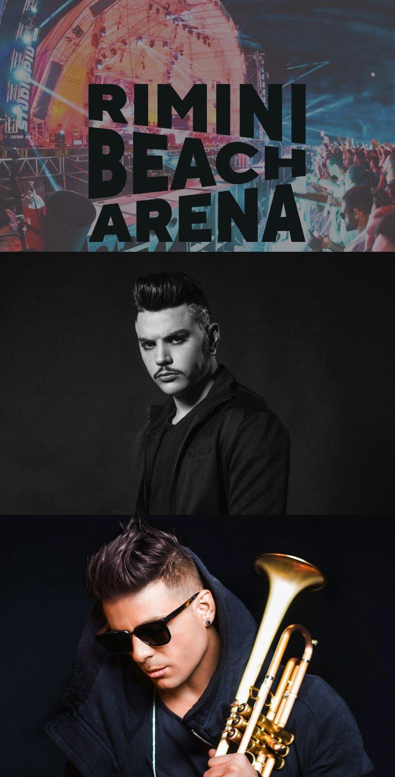 Rimini Beach Arena: Izi e Timmy Trumpet