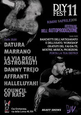 DIY Fest - i concerti al CSA Grotta Rossa di Rimini