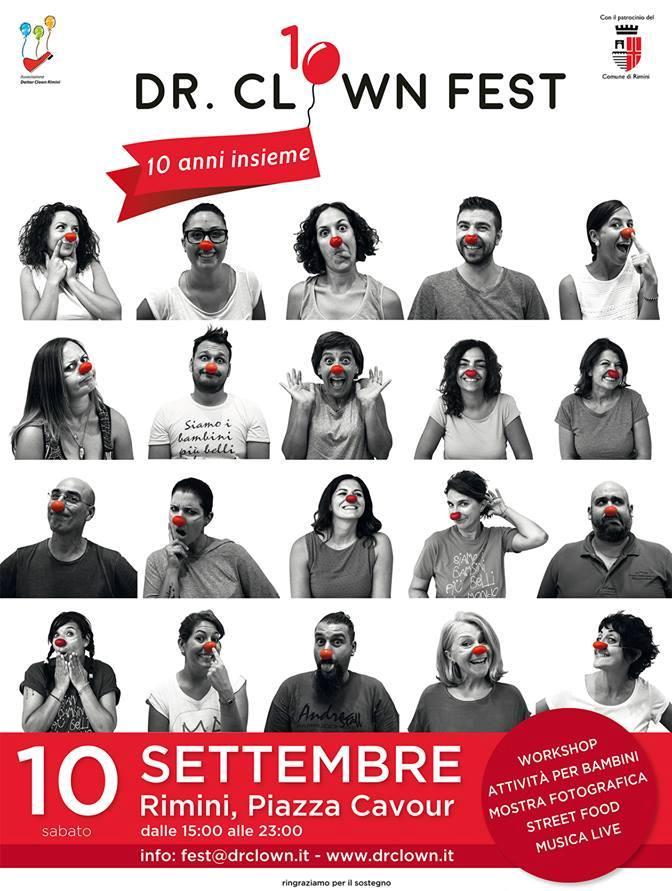Locandina Dottor Clown Fest - Rimini