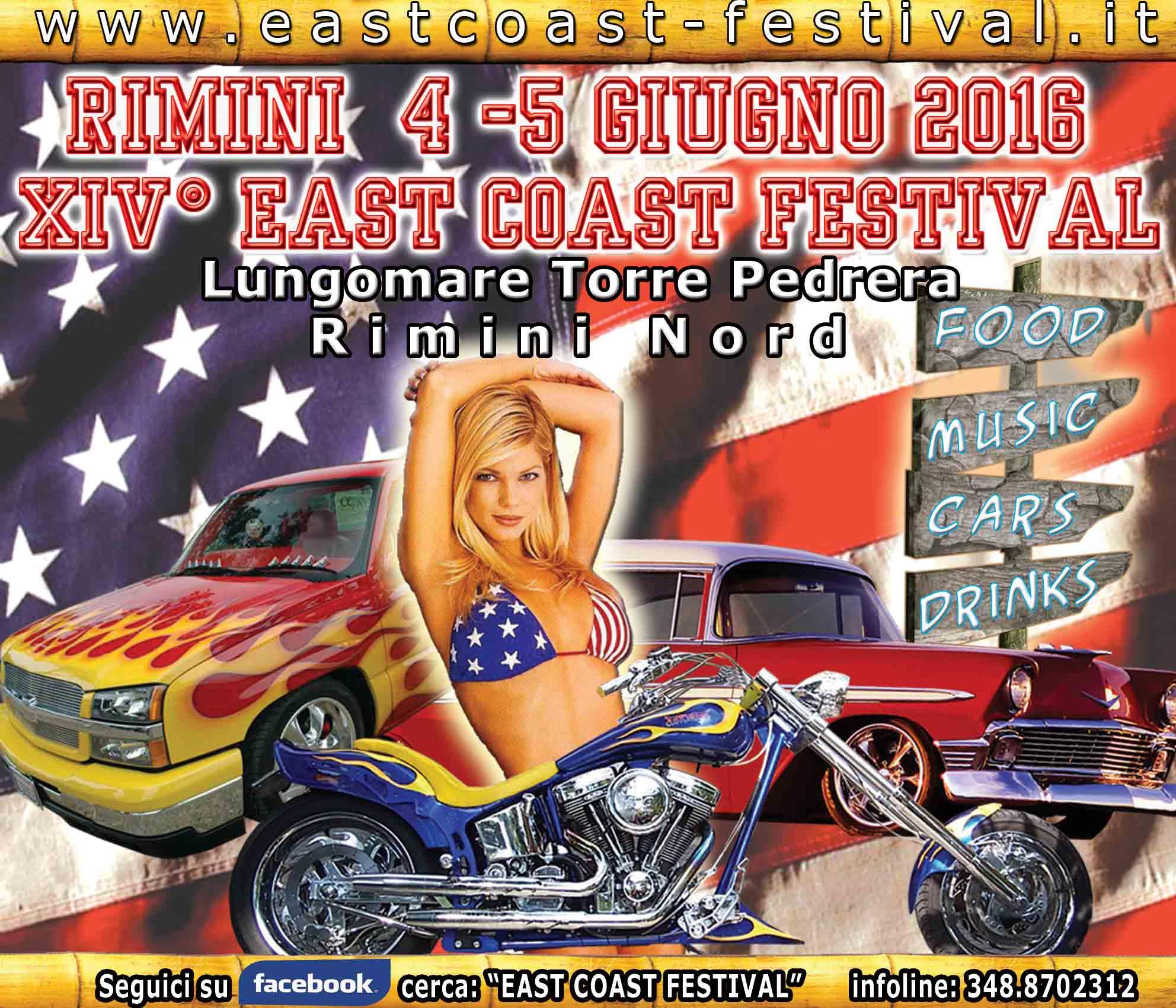 XIV East Coast Festival - Rimini Torre Pedrera