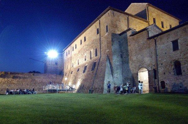Cortile di Castel Sismondo