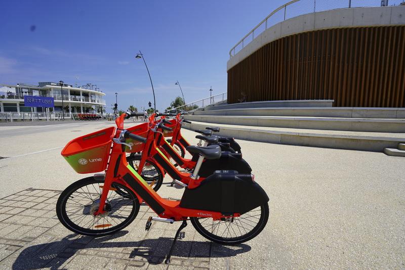 biciclette elettriche in sharing