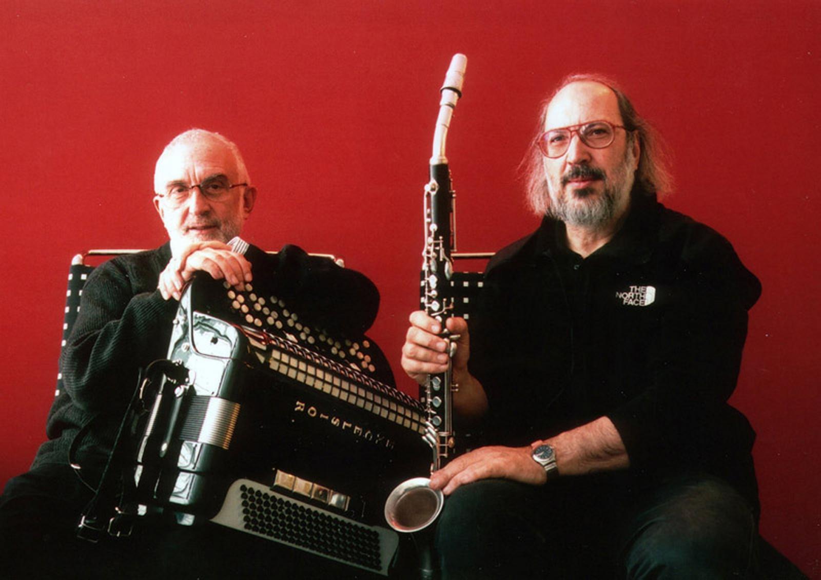 Gianluigi Trovesi – clarinetti; Gianni Coscia – fisarmonica
