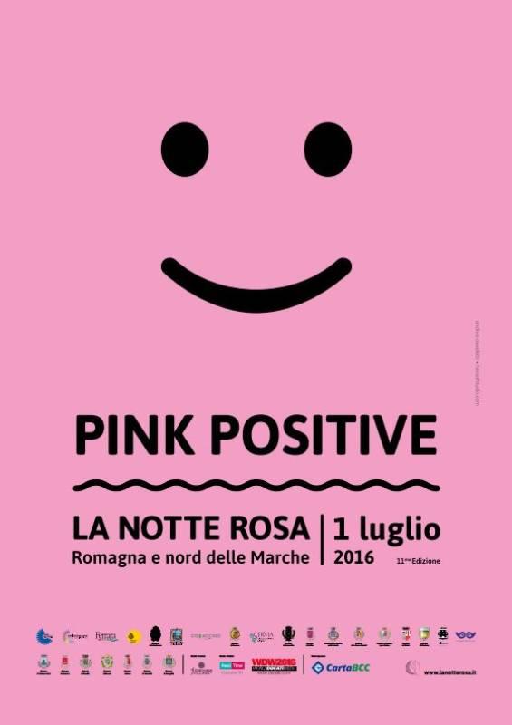 Notte Rosa - Pink positive