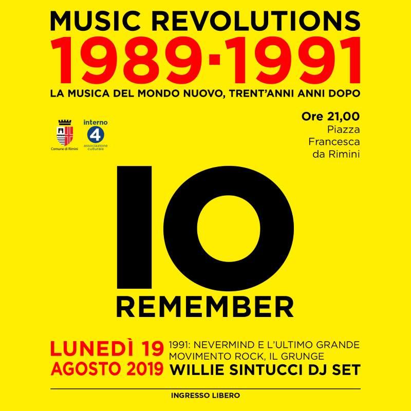 Music Revolutions 1989-1991: IO remember