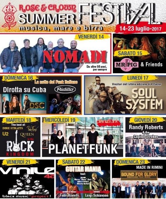 Rose & Crown Summer Festival