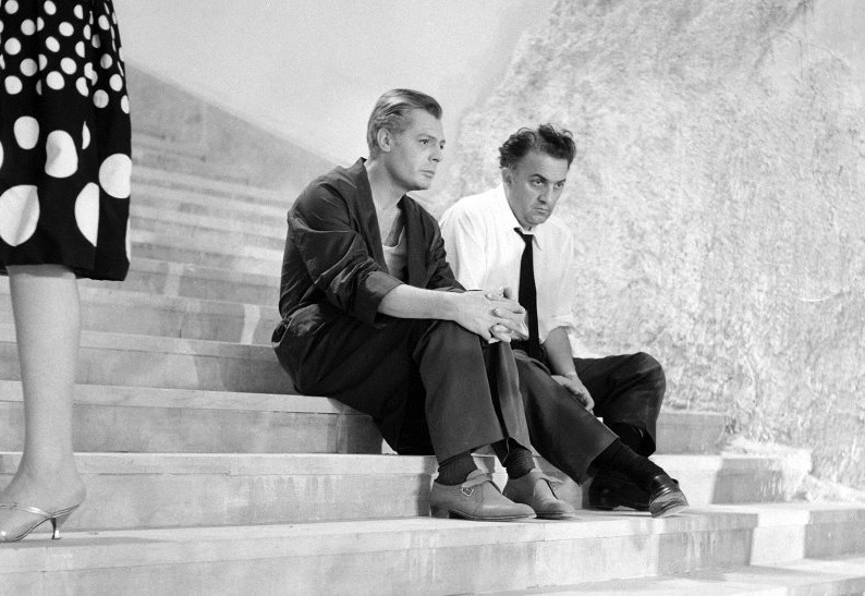 8 ½ di Federico Fellini nelle fotografie inedite di Paul Ronald