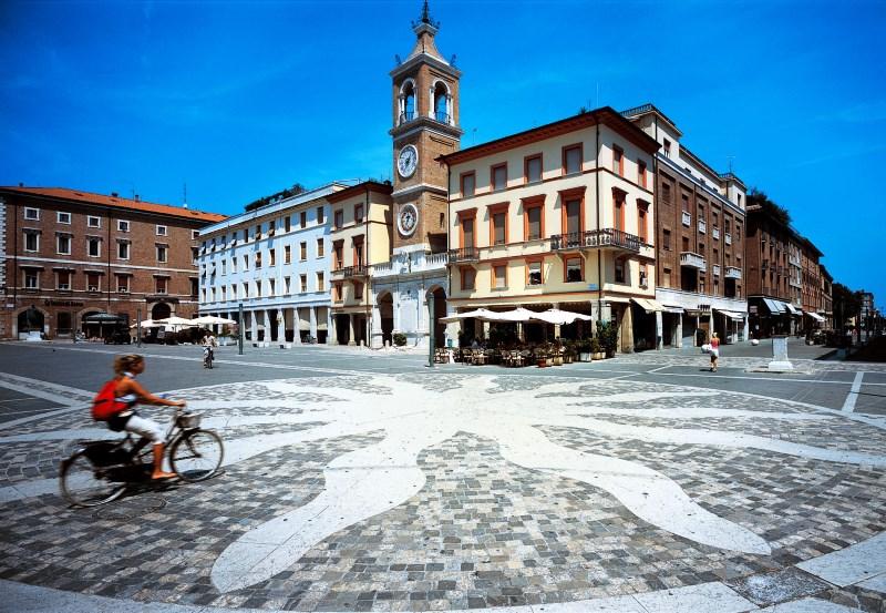 Rimini, Tre Martiri square