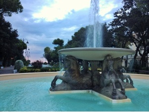 Fontana dei Quattro Cavalli - Rimini Marina Centro