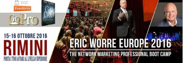 Eric Worre Europe 2016