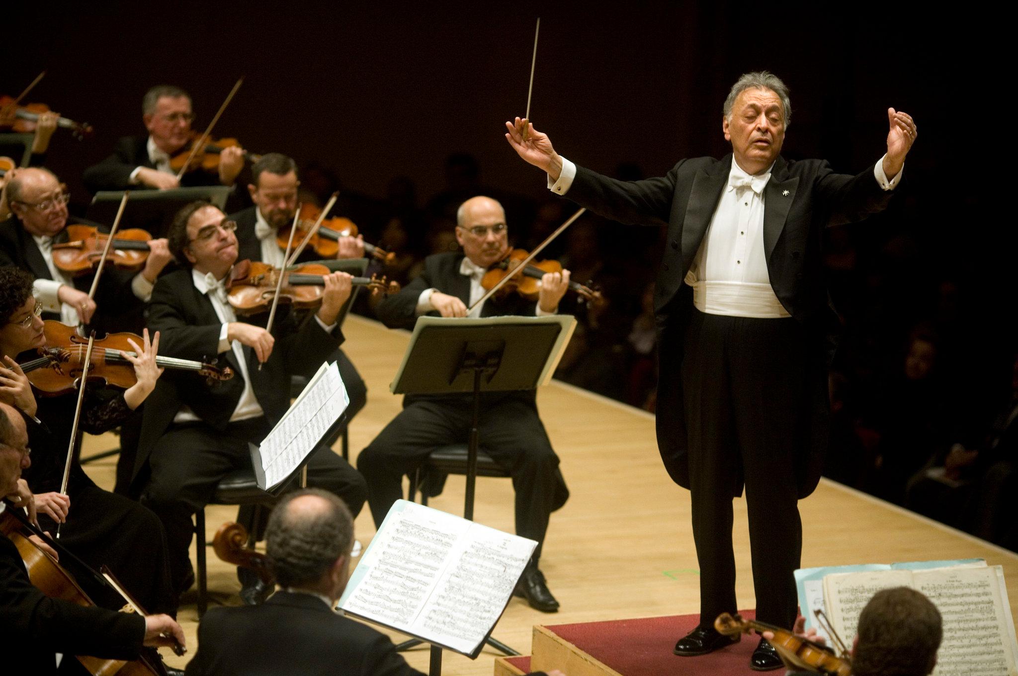 Israel Philarmonic Orchestra con Zubin Metha