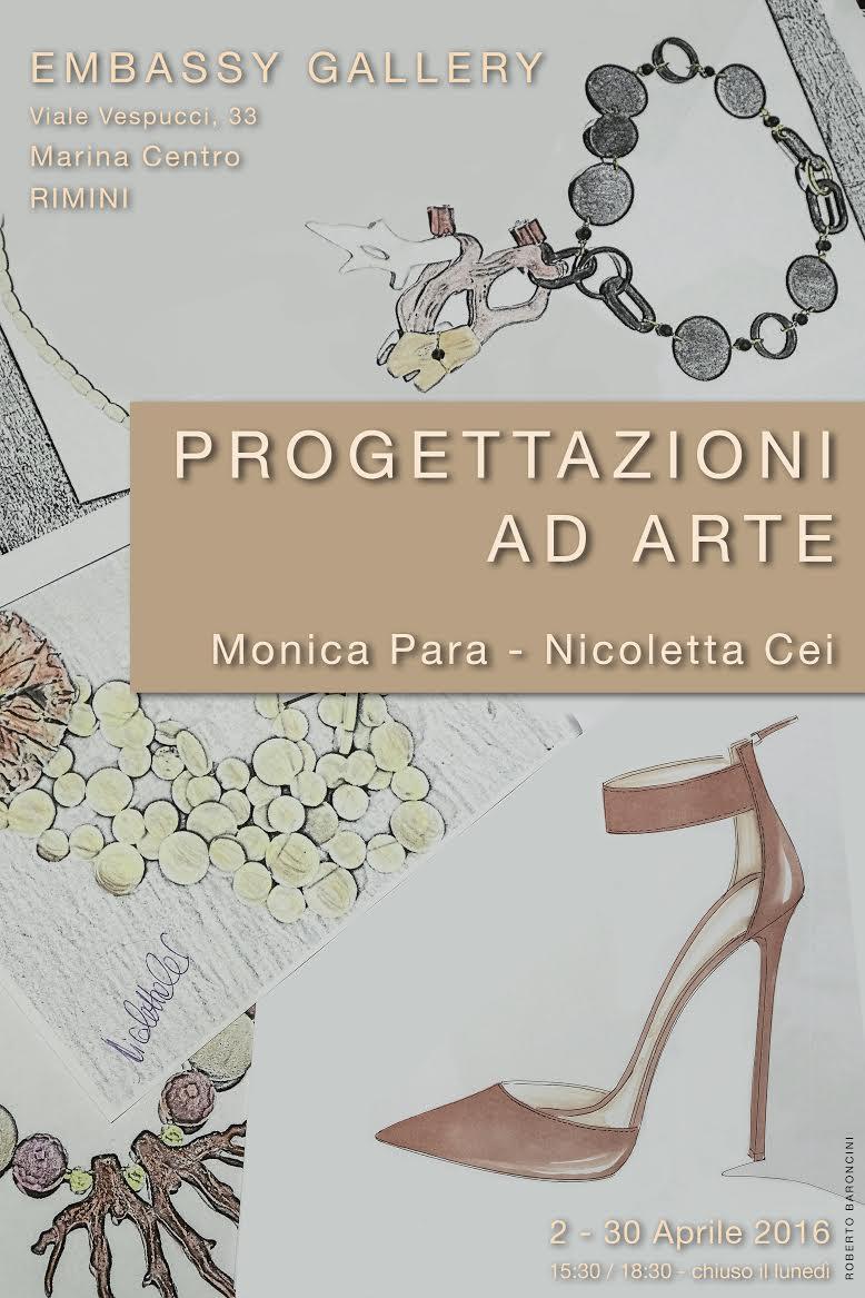 Locandina Mostra Embassy Gallery Rimini
