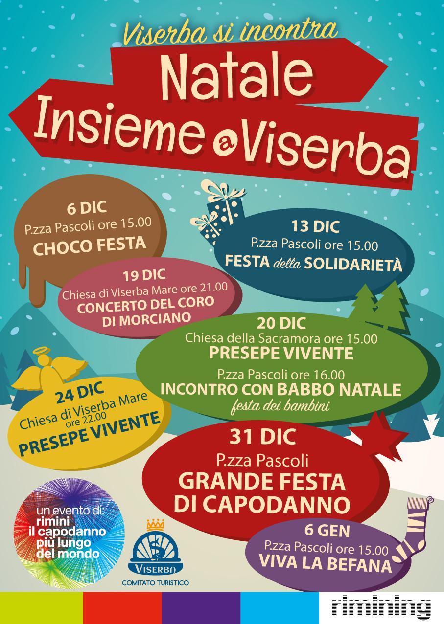 Locandina Natale insieme a Viserba