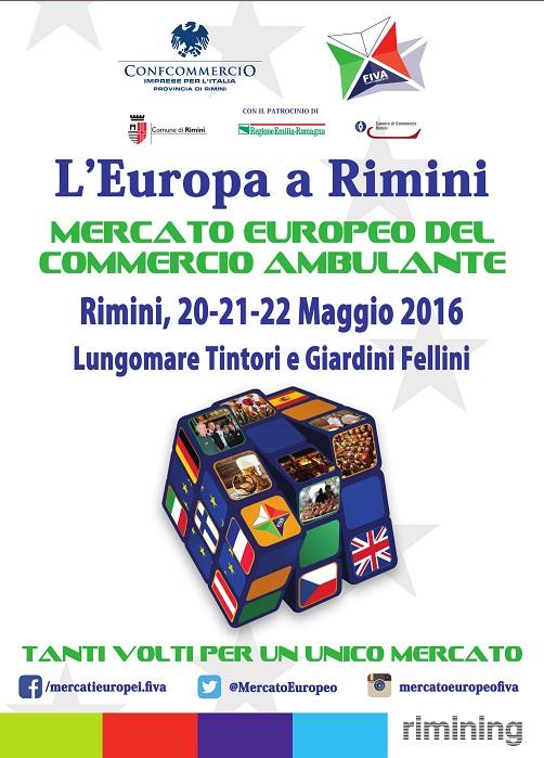 Mercato Europeo a Rimini 2016