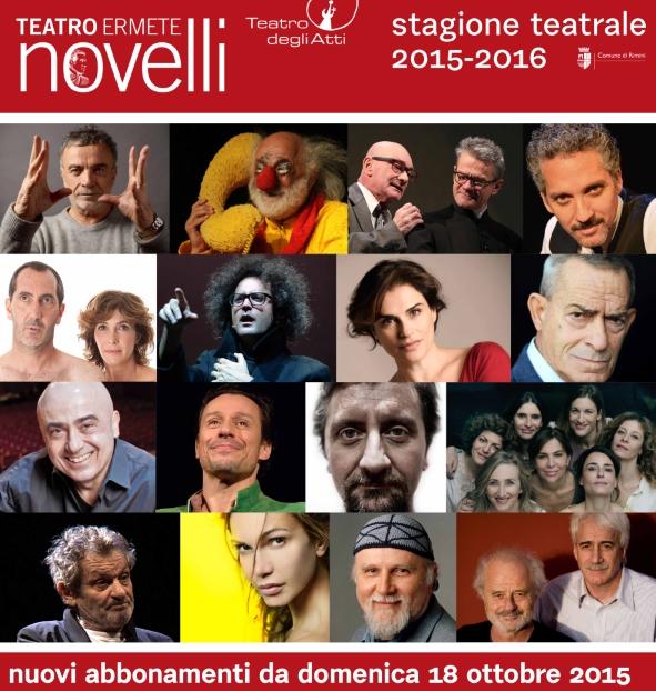 cartellone 2015- 2016