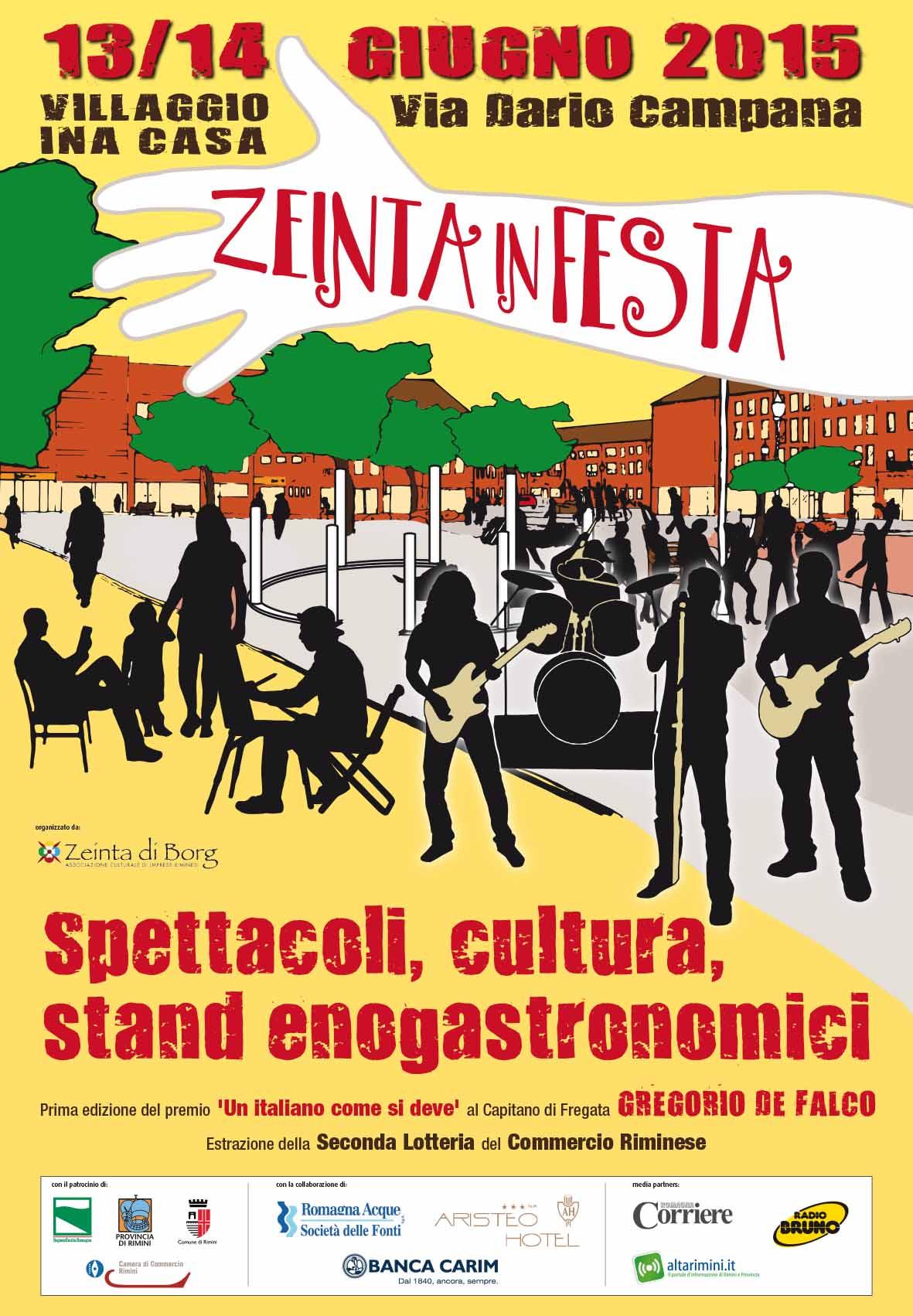 manifesto Zeinta in Festa