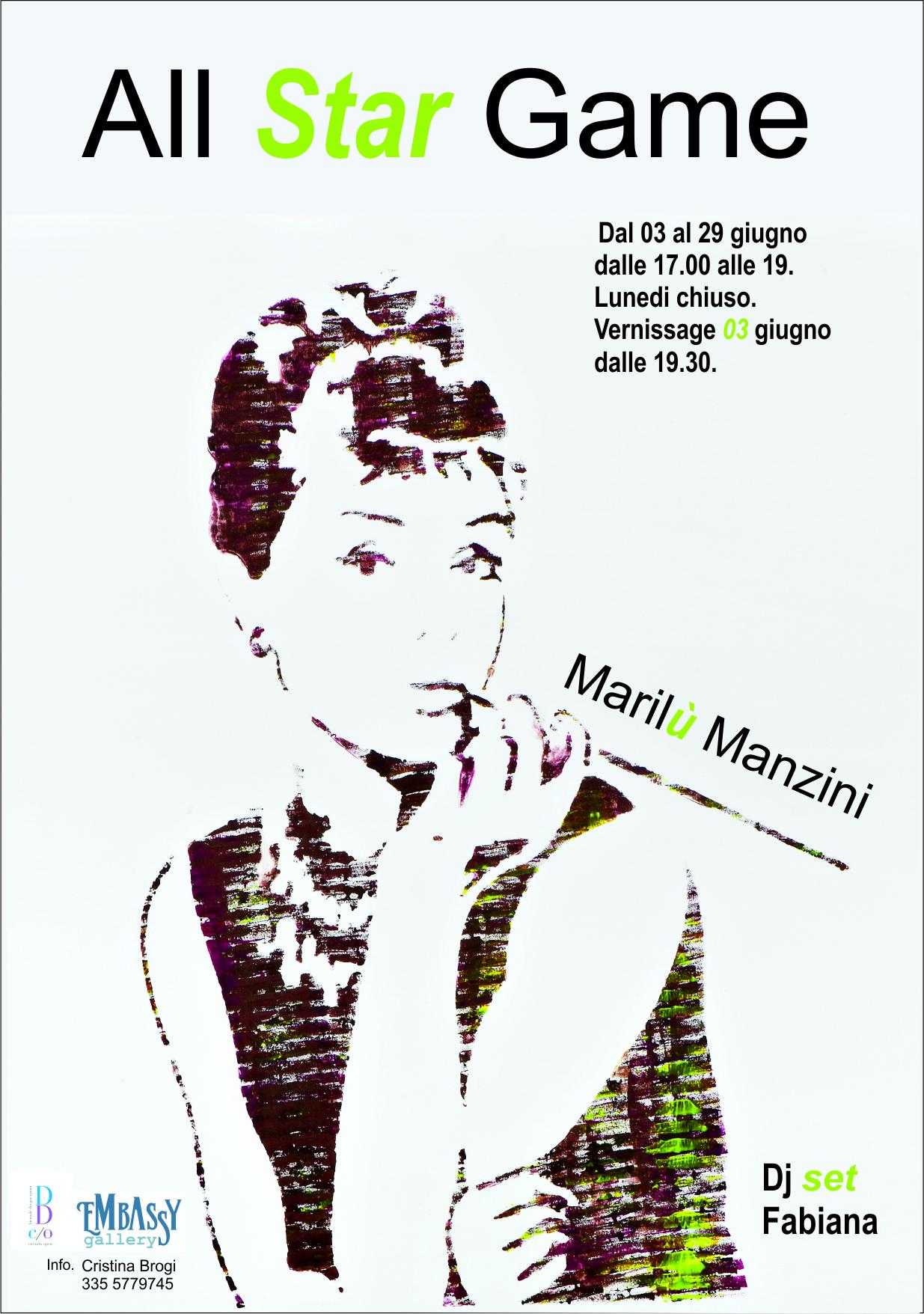 Mostra di Marilù Manzini al Embassy Gallery - Rimini