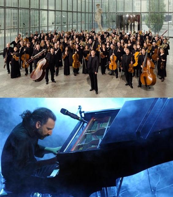 MDR Sinfonieorchester con Kristian Järvi - Stefano Bollani al pianoforte