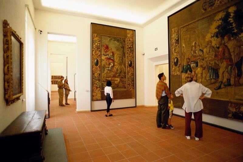 Interior of the City Museum