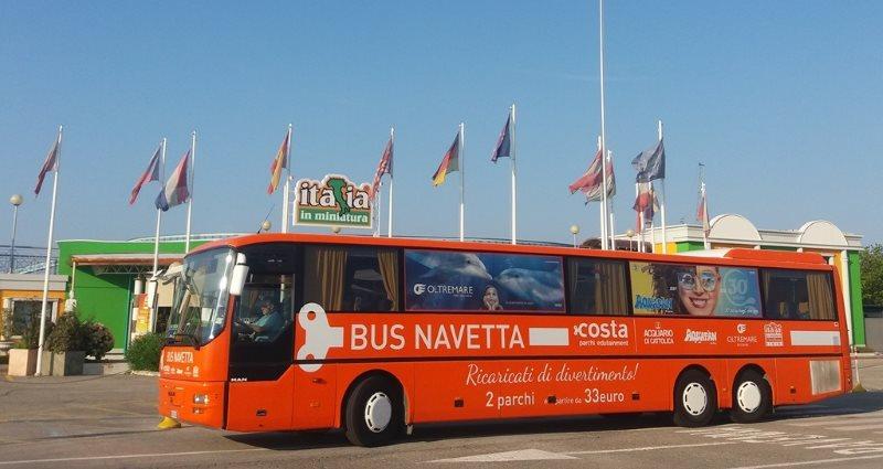 Bus navetta Costa Parchi