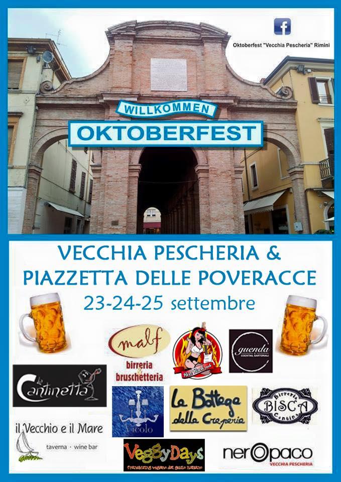 Locandina Oktoberfest - Festa della Birra 2015