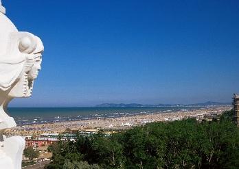 The beach of Rimini