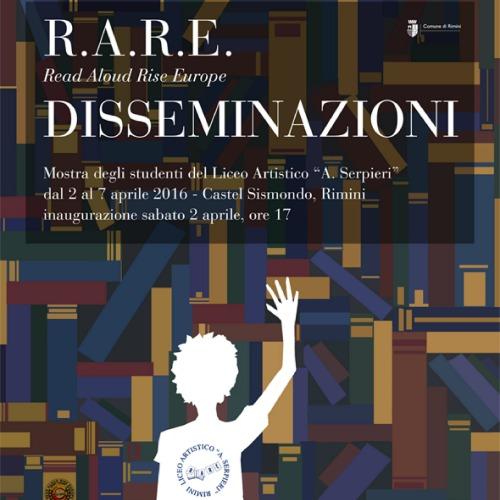 Mostra R.A.R.E. Read Aloud Rise Europe DISSEMINAZIONI a Rimini