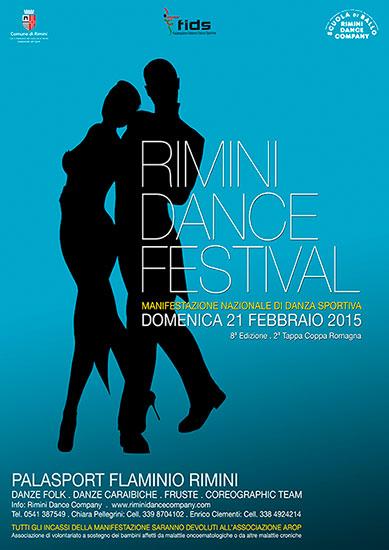 Locandina Rimini Dance Festival 2016