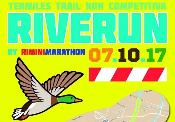RiverRun Trail 15 Km di Rimini Marathon - 2017