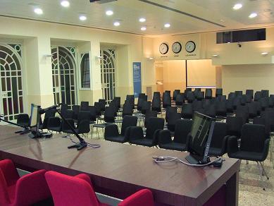 sala convegni Palazzina Roma