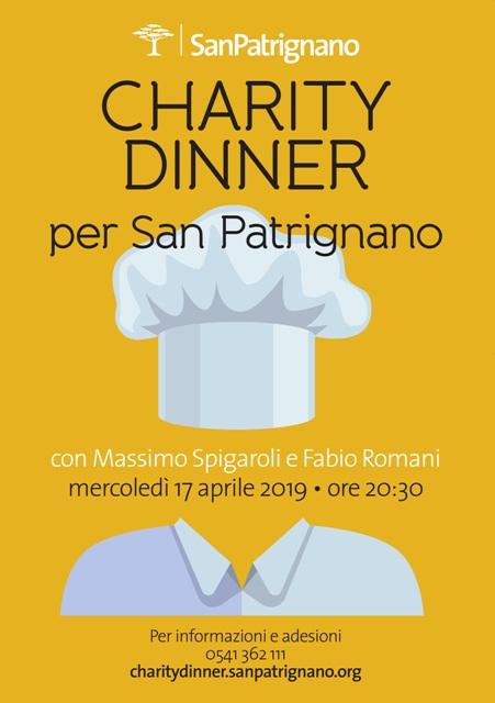 Charity dinner San Patrignano 2019