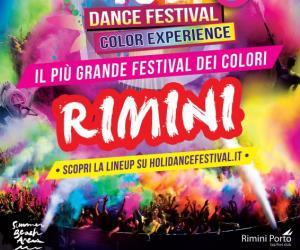 Holi Dance Festival a Summer Beach Arena