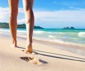 Stramare - Walking in the sea