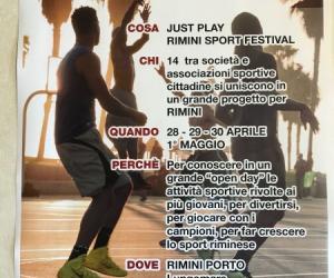 Just Play Rimini Sport Festival