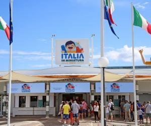 ingresso a Italia in miniatura