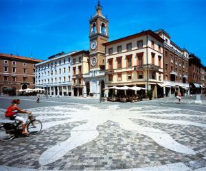 Tre Martiri Square - old town Rimini