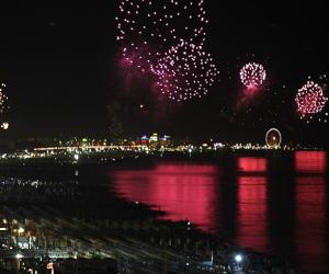 La Notte Rosa - fireworks