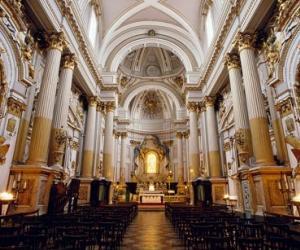 Inside of the  S. Maria dei Servi Church