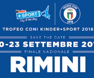 5° trofeo Coni under 14 - Kinder Sport